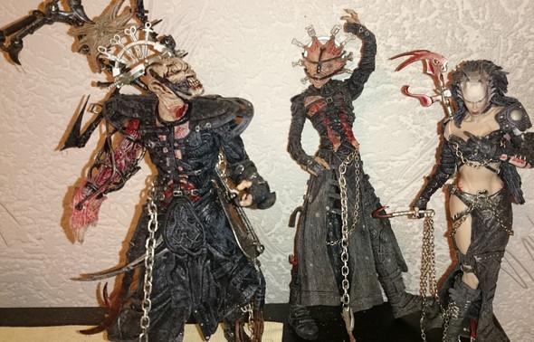 Wie heißen diese Figuren? - (Film, Horror, action figuren)