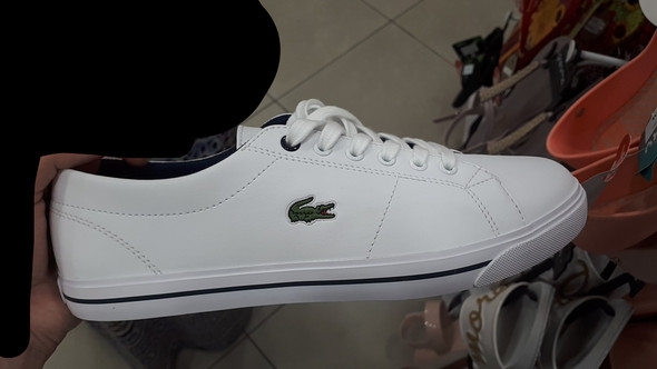 the best attitude aacdb eab44 Wie heißen diese weißen Lacoste Schuhe? (Mode)