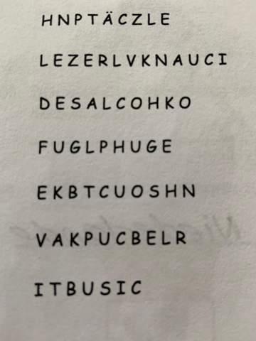 """Wie heißen diese Wörter zum Thema """"Backen""""?"""