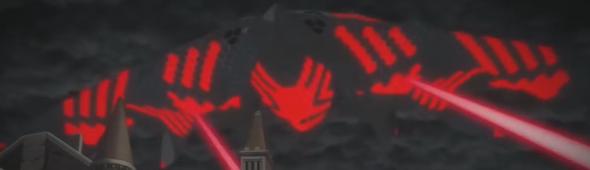 Wie heißt das Alien Schlachtschiff in dem Video?