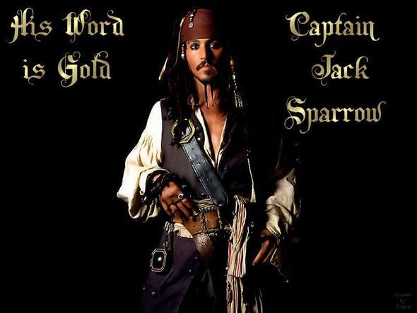 Jack Sparrow - (Kostüm, Fluch der Karibik, jack-sparrow)