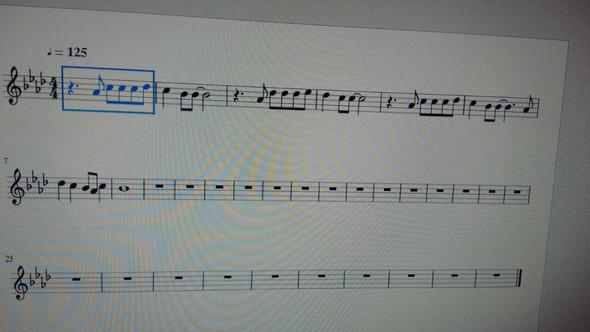 Noten - (Musik, Lied)