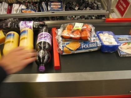 Bilduntertitel eingeben... - (Geschäft, Supermarkt, Kasse)