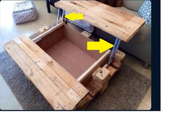 Tisch - (Holz, selber machen, Baumarkt)