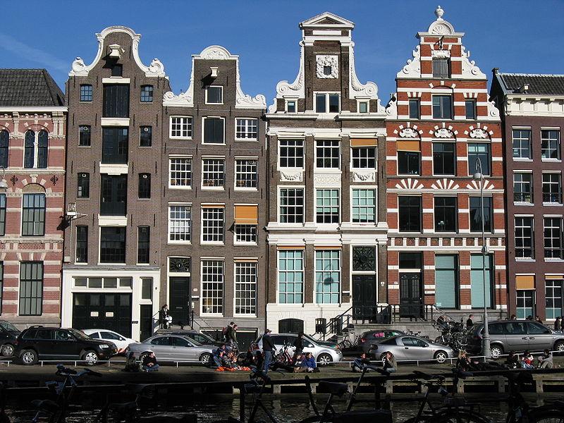 Wie hei t der baustil der holl ndischen h user an den grachten architektur niederlande - Architektur amsterdam ...