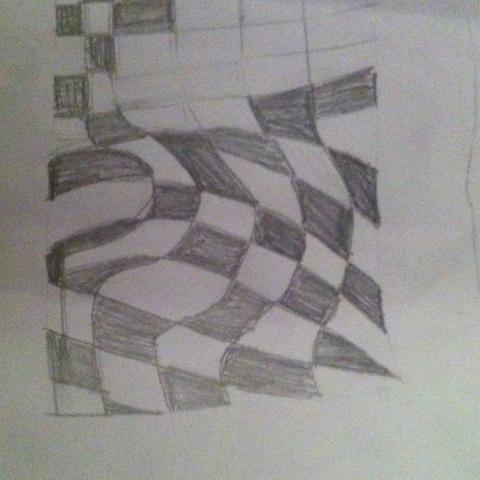 Wie Heisst Der Künstler Der Schwarz Weiß Quadrate Malt Kunst