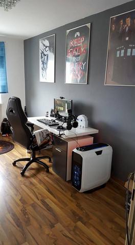 Schreibtisch den ich gesehen habe - (Computer, Gaming, Schreibtisch)