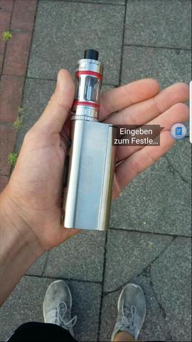 - (e-zigarette, E-Shisha)