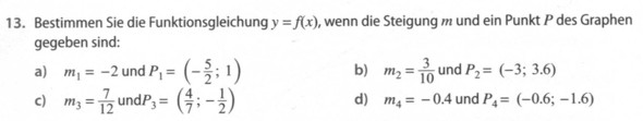 Funktionsgleichung - (Mathe, lineare-funktion)