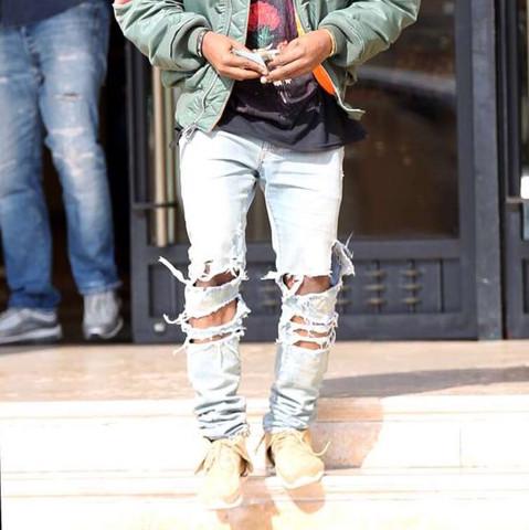 Hier die Hose von Kanye West nach der ich frage. - (Mode, Style, Hose)