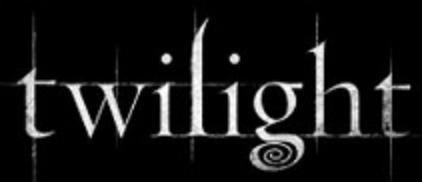 twilight schriftart