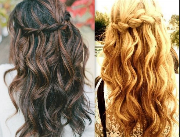 Wie Heisst Diese Art Von Frisuren Haare Frisur Abschlussball