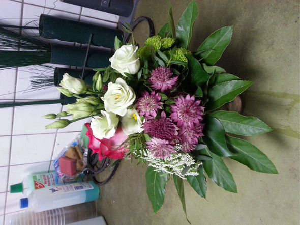 Blumenstrauß  - (Name, Pflanzen, Blumen)