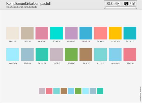 wie hei t diese farbe pastell bilder blau gr n. Black Bedroom Furniture Sets. Home Design Ideas