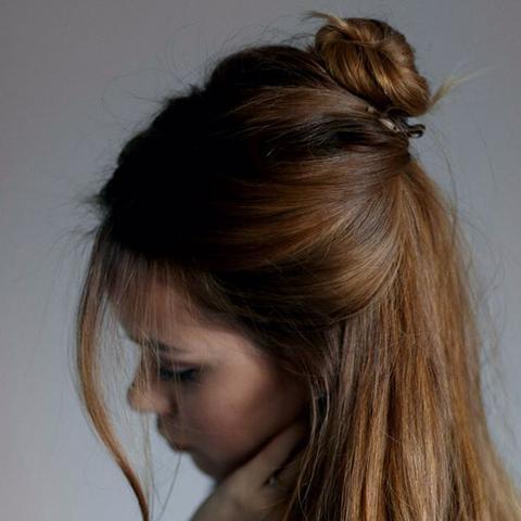 Wie Heisst Diese Frisur Halb Offen Mit Dutt