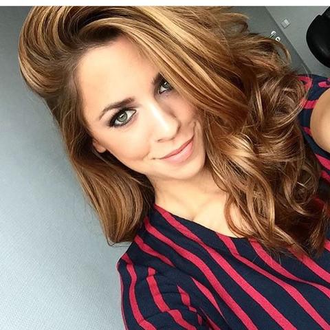 Wie Heisst Die Haarfarbe Von Vanessa Mai Haare Färben