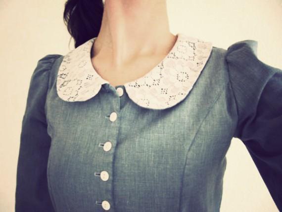 kragen - (Mode, Kleid, oberteil)