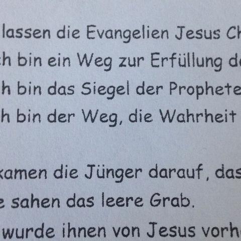 <---- - (Schule, Religion, Schriftart)