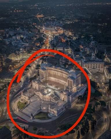Wie heißt diese Sehenswürdigkeit in Italien, Rom?