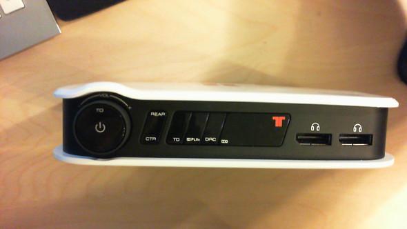 Front - (Computer, HDMI, HiFi)