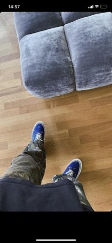 Wie heißt dieser blaue Sneaker?