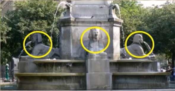 Wie heißt dieser Brunnen in Paris?