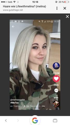 Wie Heißt Dieser Haarschnitt Von Melina Sophie Haare