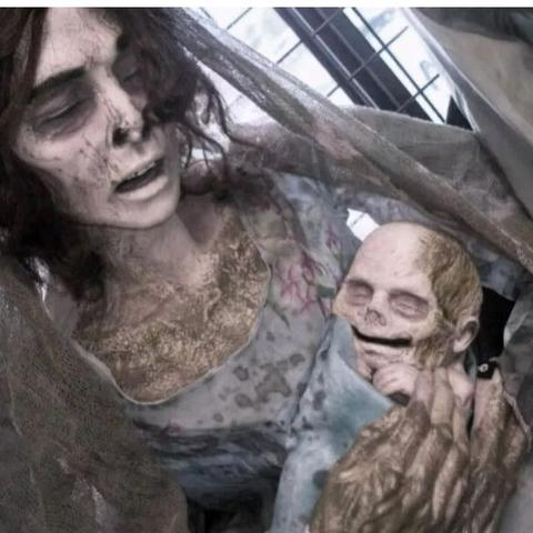 Horror Frau