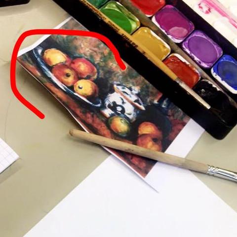 Hier ist das Gemälde  - (Schule, Musik, Abitur)