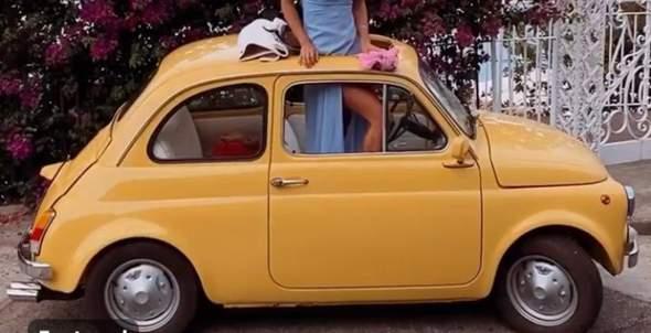 Wie heißt dieses gelbe Auto?