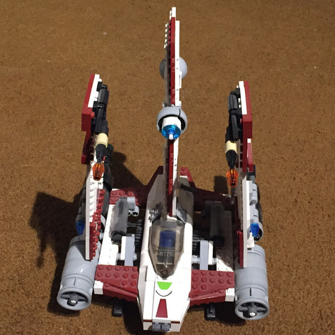 Vorne - (Star Wars, Spielzeug, Lego)