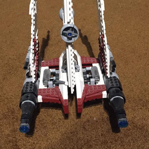 Hinten - (Star Wars, Spielzeug, Lego)
