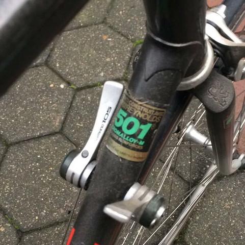 Rahmen Bezeichnung des Fahrrads Reynolds 501 - (Auto und Motorrad, Peugeot, erkennen)