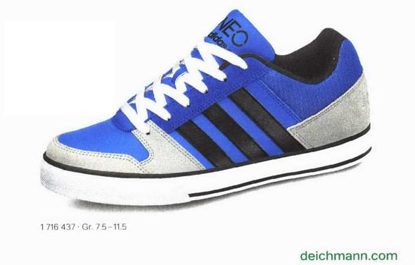 Blauer Adidas Neo Schuh - (Schuhe, Sneaker, adidas neo)