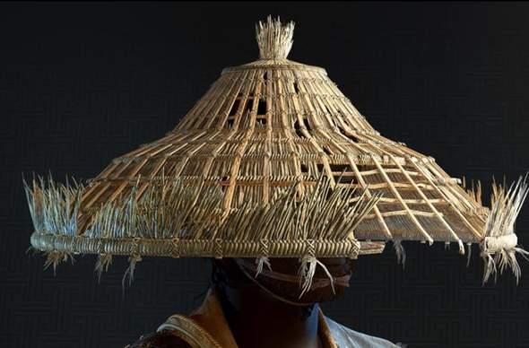 Wie heißt so ein Bambus Hut?