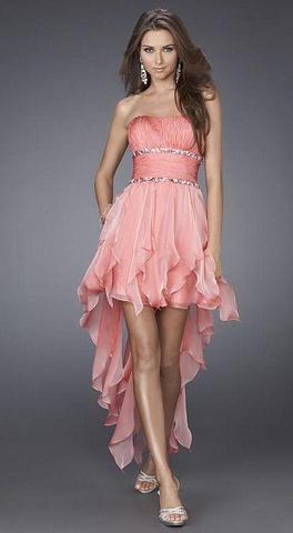 Kleid vorne kurz hinten lang nahen