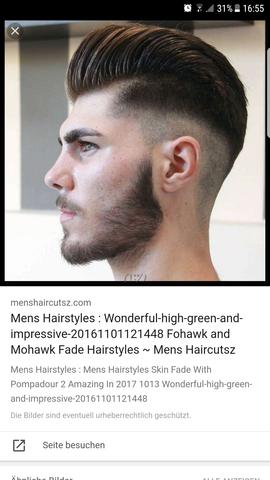 - (Haare, Frisur, Haarschnitt)