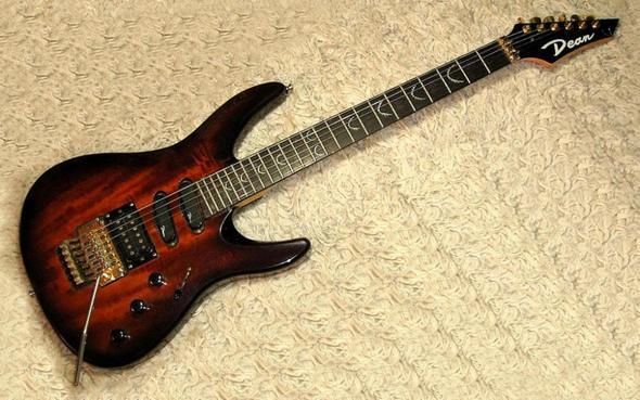 Dean E-Gitarre - (Name, E-Gitarre)