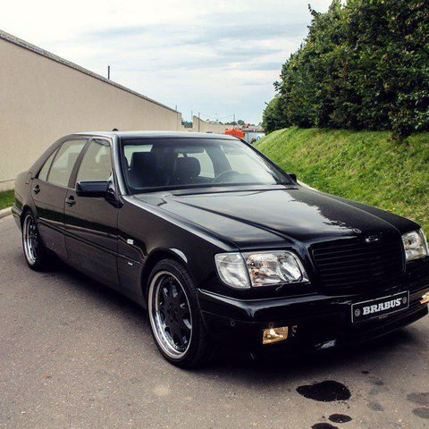 Brabus S600 7,3 V12 - (Auto und Motorrad, Mercedes-Benz, AMG)
