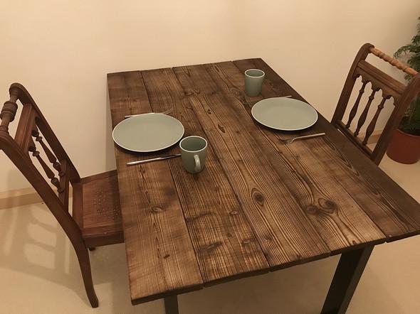 Holztisch Versiegeln wie holz küchentisch versiegeln ohne dessen farbe zu ändern