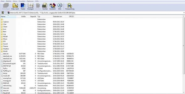 Das ist die Archiver Datei (Nicht ganz) - (PC, Privat Server, flyff)
