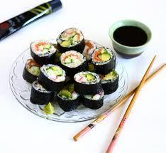 Lecker lecker - auch die Soyasauce - (essen, Sushi, Manieren)