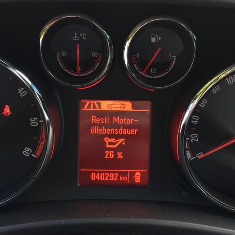 Display vom Opel Meriva B  - (Auto, KFZ, mobil)