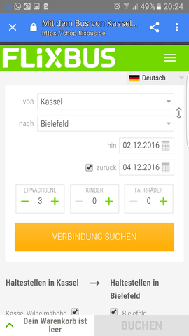 Flixbus - (Fahrt, FlixBus)