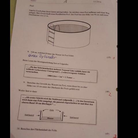 Ganz unten - (Mathe, Flächeninhalt, mathenachhilfe)
