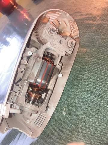 Wie ist der Aufbau meines Mixer-Motors zu beschreiben?
