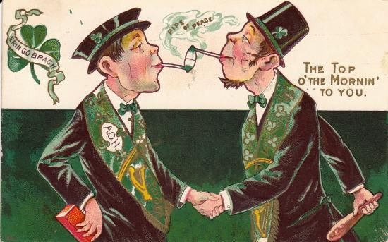 Karikatur - (Karikatur, Irish, stereotypes)