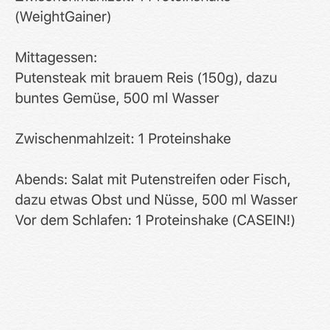 Der Ernährungsplan  - (Ernährung, Fitness, Muskelaufbau)