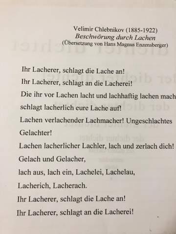 Wie Ist Dieses Gedicht Zu Verstehen Schule Deutsch Lyrik