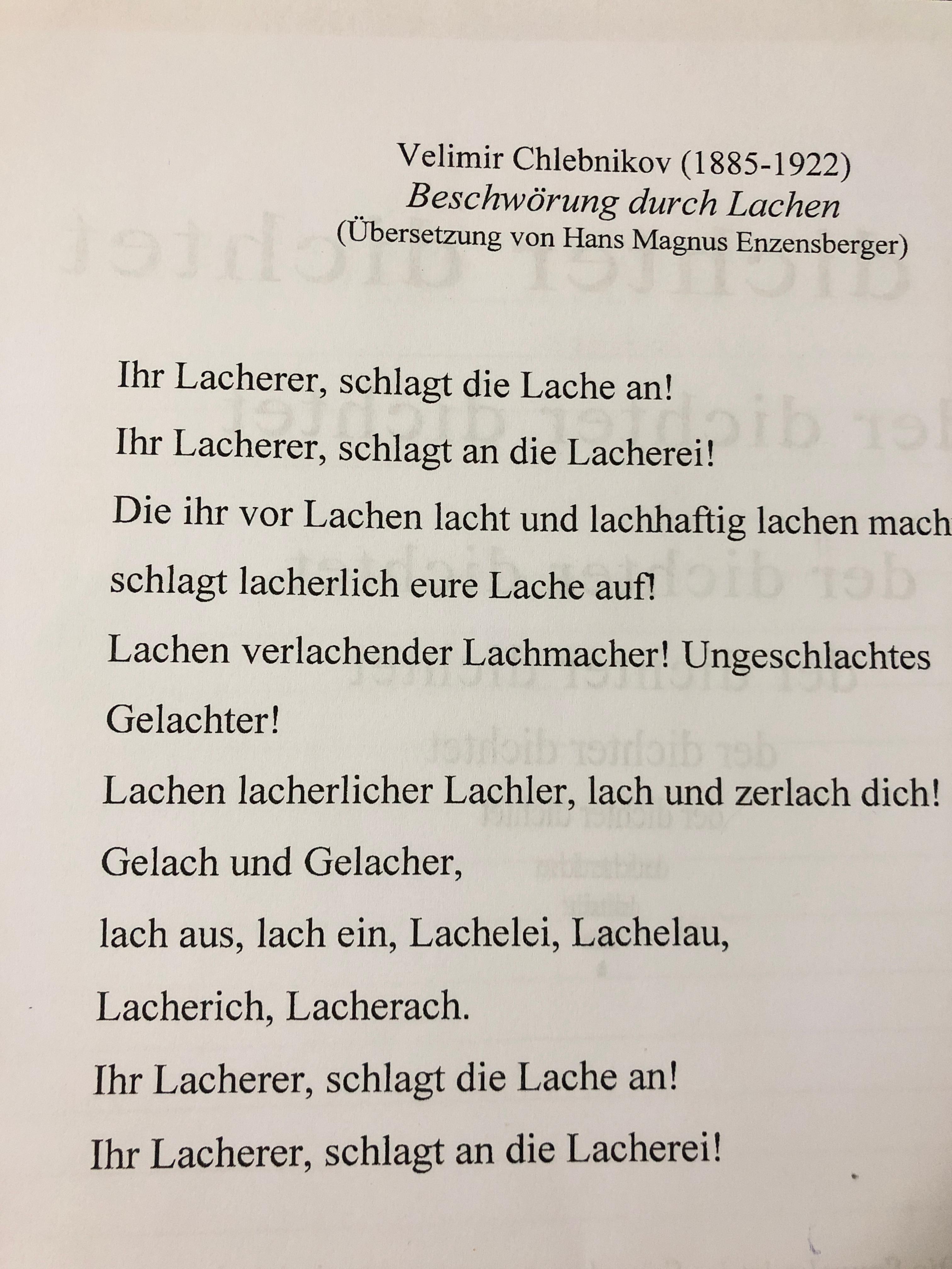 Wie ist dieses Gedicht zu verstehen? (Schule, Deutsch, Lyrik)